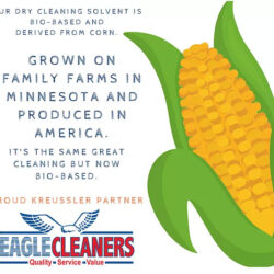From Corn to Clean: Eagle Cleaners is Green