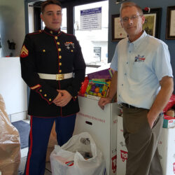 Eagle Cleaners honors veterans, begins 21st year supporting Toys for Tots
