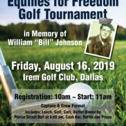 Eagle Cleaners Sponsors Equines for Freedom Golf Tournament