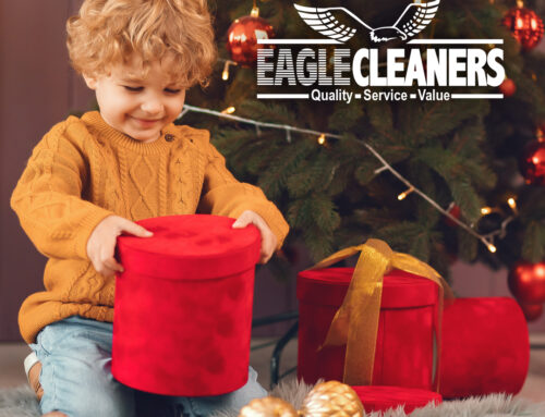 Eagle Cleaners Helps Toys for Tots