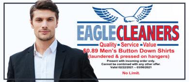 February 2021 $0.89 mens shirts